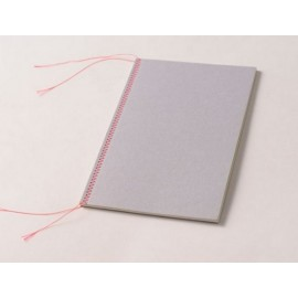 Cuaderno Happily Ever Paper Mrs.Stitches gris 14x21,5cm