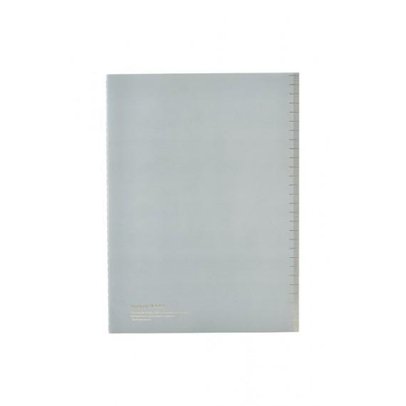 Cuaderno A4 Monograph tapa fina azul