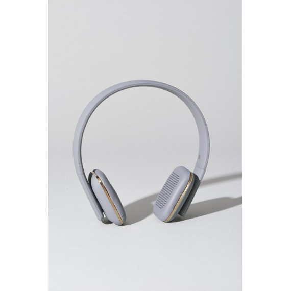 Auriculares Kreafunk aHead inalambricos grises