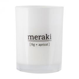 Vela aromática Meraki higo y albaricoque