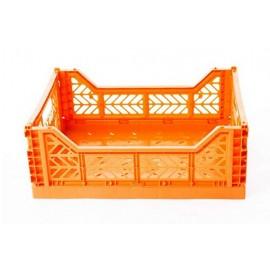 Mini caja plegable naranja de AyKasa 26.5x17x10.5 cm