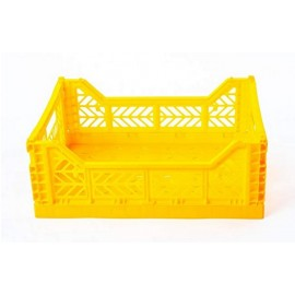 Mini caja plegable amarilla de AyKasa 26.5x17x10.5